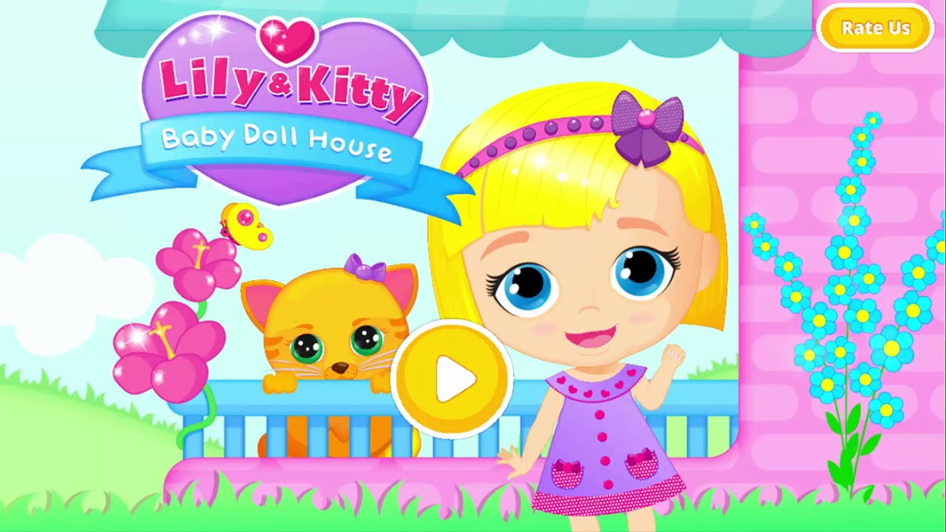 Games For Kids And Toddlers | Baby Doll House To Play The Cutest Baby And Pet Care