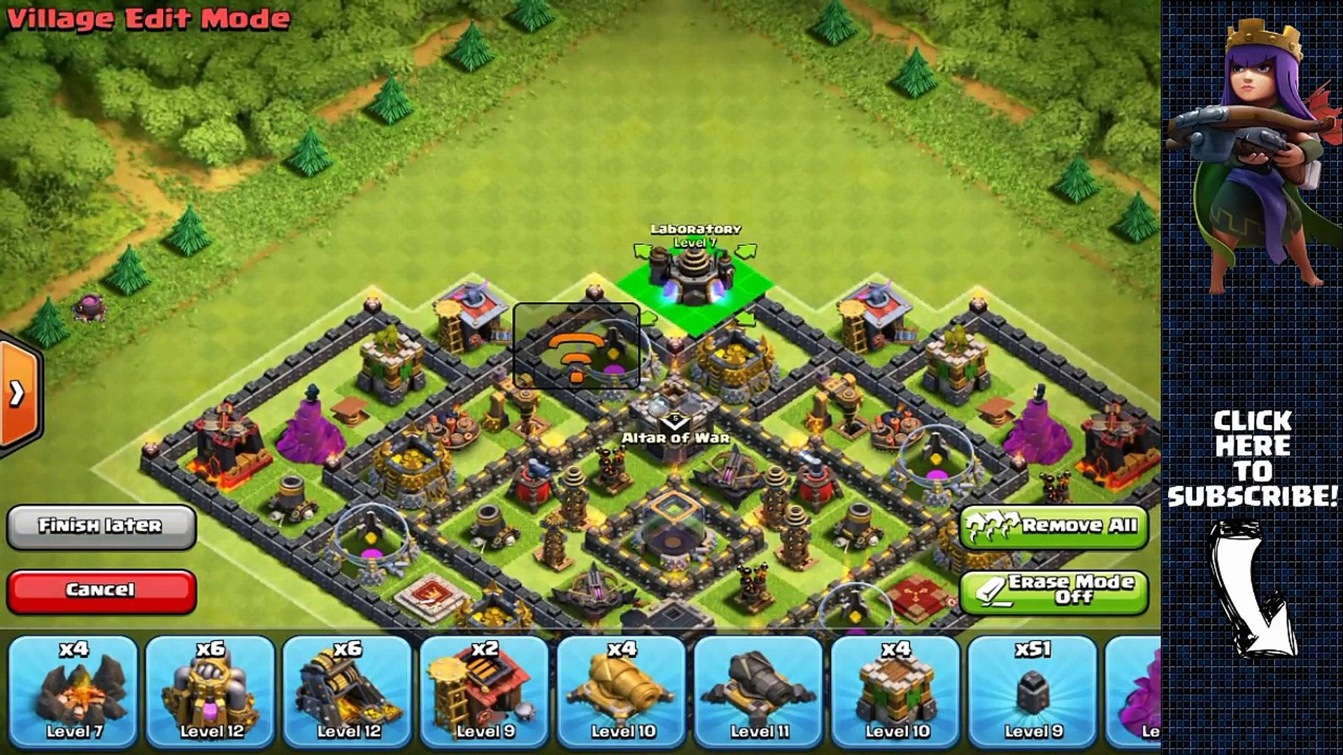 POST UPDATE Town Hall 9 Farming/Hybrid Base - Clash of Clans