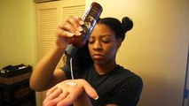 How To Get Natural Hair Bone Straight | Tkeyah B