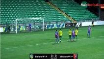 (Penalty) Pusi B. Goal HD - Zimbru Chisinau U19 3-1 Vllaznia U19 26.09.2017