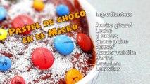 El Mug Cake de Chocolate en Microondas más fácil de Youtube  - Microwave Mug Cake