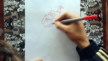Como dibujar a tío grandpa | how to draw uncle grandpa