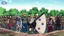 Naruto Shippuden  Awesome Showdown Naruto Sasuke Itachi Jiraiya and Nagato vs Kage Puppets (HD)