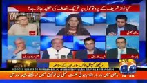 Hassan Nisar Gets Hyper on Imtiaz Alam, Hot Debate