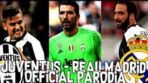 JUVENTUS REAL MADRID   PARODIA FINALE DI CHAMPIONS