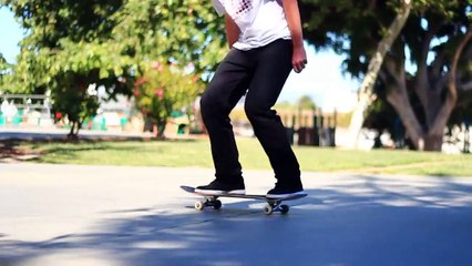 HOW TO OLLIE WHILE RIDING