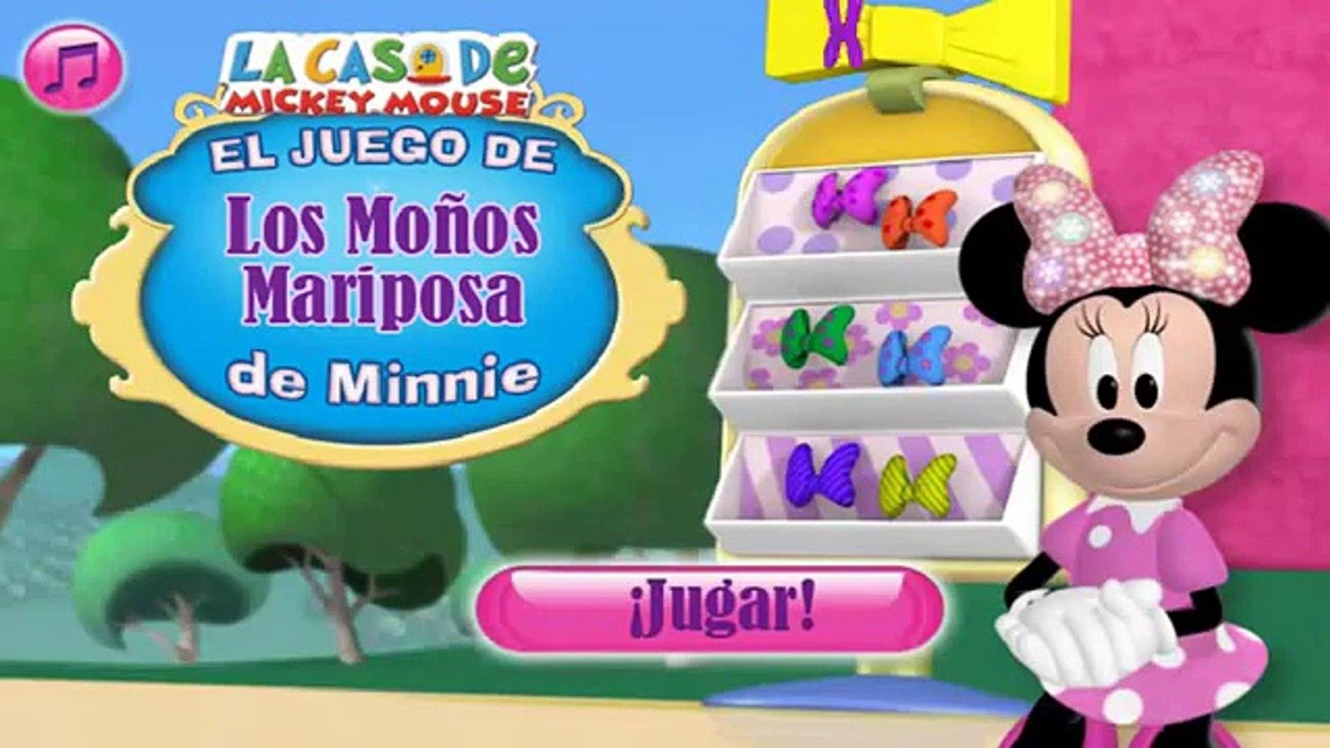 La Casa De Mickey Mouse El Juego De Los Monos Mariposa De Minnie En Espanol Capitulos Completos