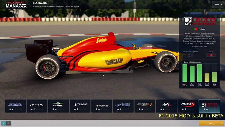 F1, GP2 & F3 MOD for Motorsport Manager [Real Name MOD] +DL Link!