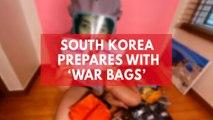 South Korea 'war bag' survival kit videos go viral