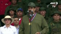 Maduro pede que militares 'lubrifiquem' fuzis