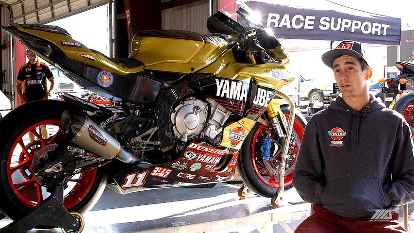 MotoAmerica Superstock 1000 Champion Mathew Scholtz Interview New Jersey Motorsports Park