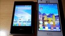 LG Optimus L5 vs. LG Optimus L3 - Benchmark test comparison