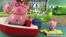 Peppa Pig Bateau Hors-Bord des vacances Histoire Holiday Splash Speedboat Jouets en français