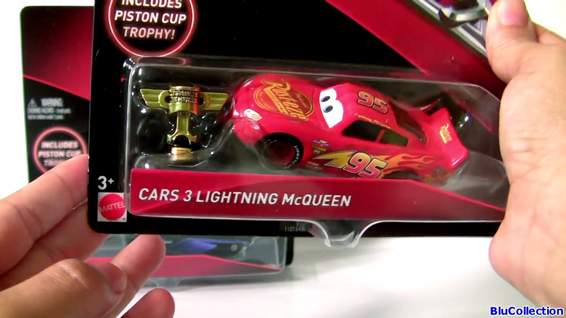 Cars 3 Jackson Storm With Piston Cup Trophy Cars 3 Lightning