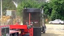Semi Truck Pulls at Richmond Québec Canada new - video