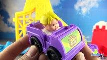 Piste Enchantée Little People Wheelies Fisher Price Flash McQueen Martin 4k #Jo