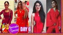 Actresses In Their RED HOT Avatar On Day 6 Of Navratri Ankita Lokhande, Asha Negi, Nia Sharma