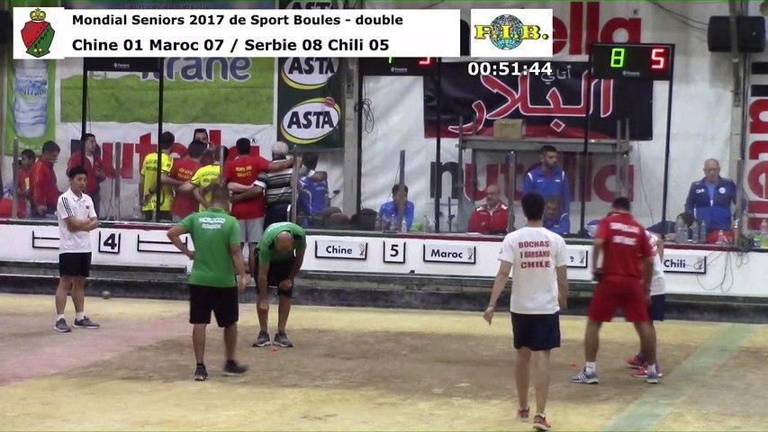 Barrages du double, Mondial Seniors, Casablanca 2017
