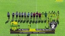 U17 : les buts de FC Nantes - Stade Bordelais