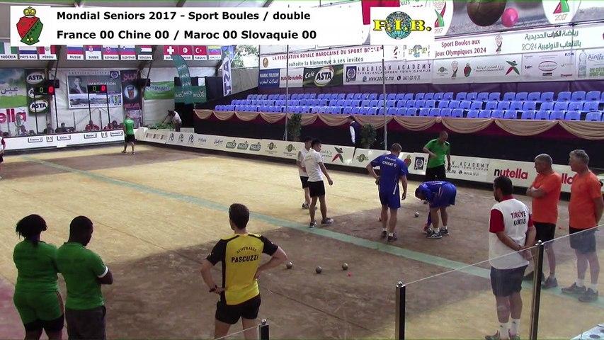 Seconde phase du double, Mondial Seniors, Casablanca 2017