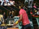 Haut niveau Ralentis Coup droit R.Nadal 2009