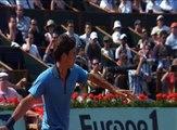 Haut niveau Ralentis Coups droits R.Federer