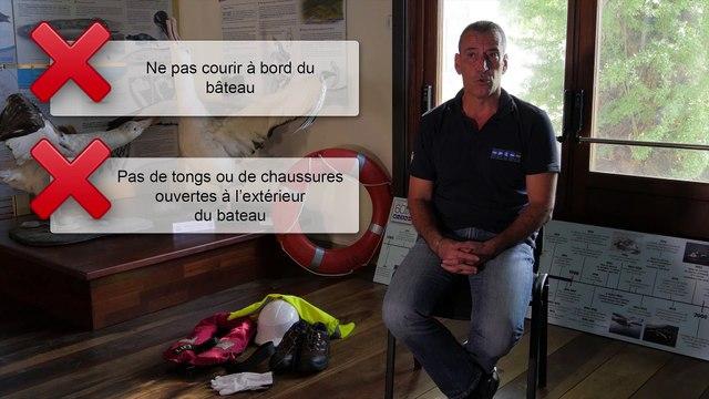 Les mesures de sécurité à bord du Marion Dufresne