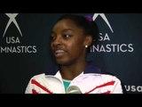Simone Biles Interview - 2013 P&G Gymnastics Championship Day 1