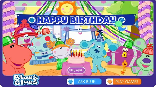 Blues Clues Blues Room Kids Games Blues Clues Games for Kids