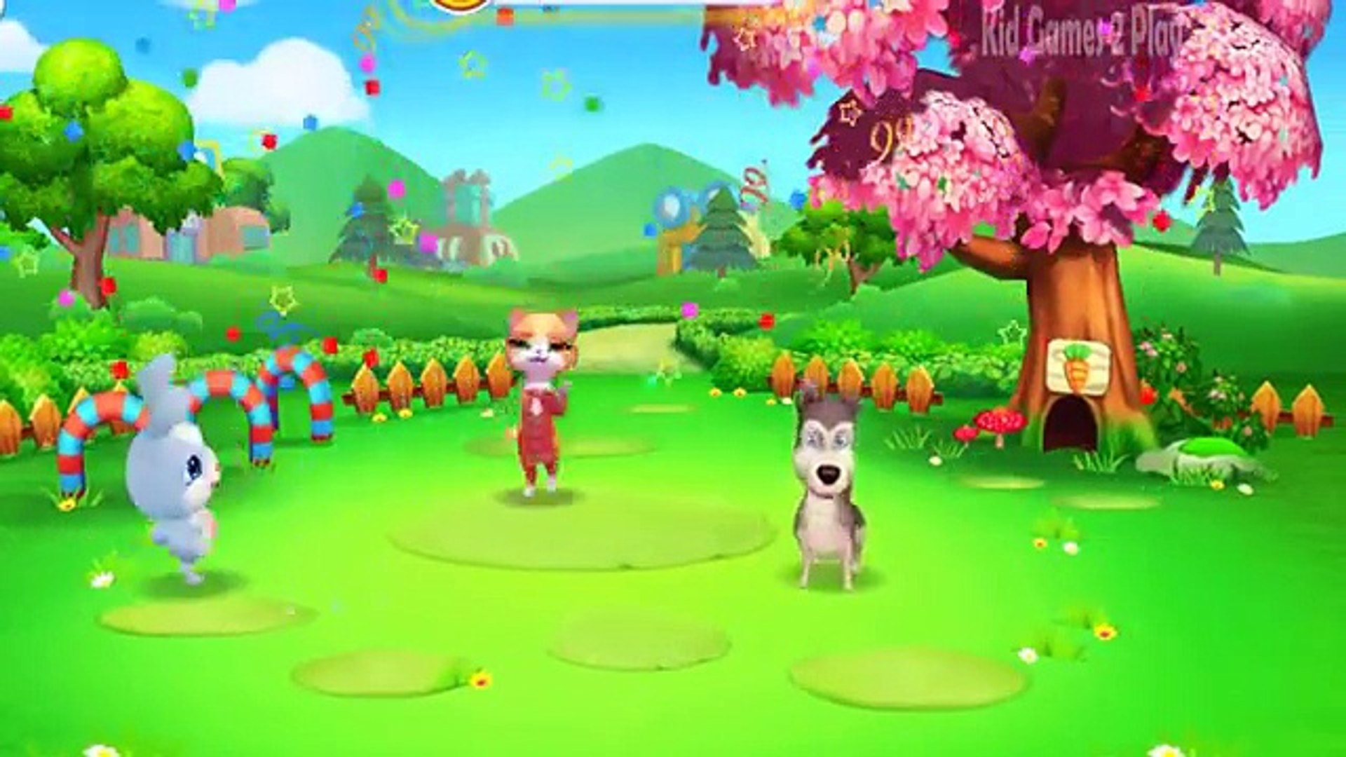 Fun Pet Care Colors Kids Games - Bad Baby Play & Learn Pets Doctor Care Game for Kids Toddlers B