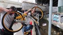 Pêche aux vélos Vélib dans le fleuve de Melbourne en Australie !