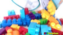 Learn Colors with MEGA BLOKS Building Blocks Toys for Children Toddlers Baby Blocks ABC Surprises