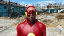 Fallout 4 - FLASH and REVERSE FLASH MOD - SO FAST AND FUN!! - DC Comics - PC X1 Mod