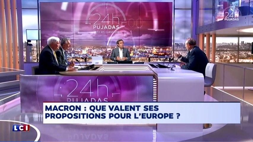 Jean-Luc Bennahmias à propos de Macron et l'Europe