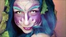 ☽ Night Elf Makeup: World of Warcraft - Makeup Tutorial ☾