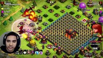 Clash Of Clans CHAMP TROLL BASE (Wallbreakers and jump spells)