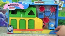 Learn Shapes & Colors with Thomas & Friends Tidmouth Shape Sorter! Fisher Price My First Thomas & Fr