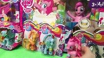 NEW My Little Pony Zapcode Ponies Pinkie Pie Rarity Applejack Rainbow Dash Ribbon Mane MLP!