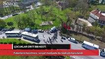 İstanbul Büyükşehir Belediyesi, çocukların diktiği barış fidanlarını kesti
