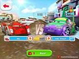 RED SHU v LIGHTNING PYOTR & WINGO @ SHU Dinoco - Cars: Fast as Lightning