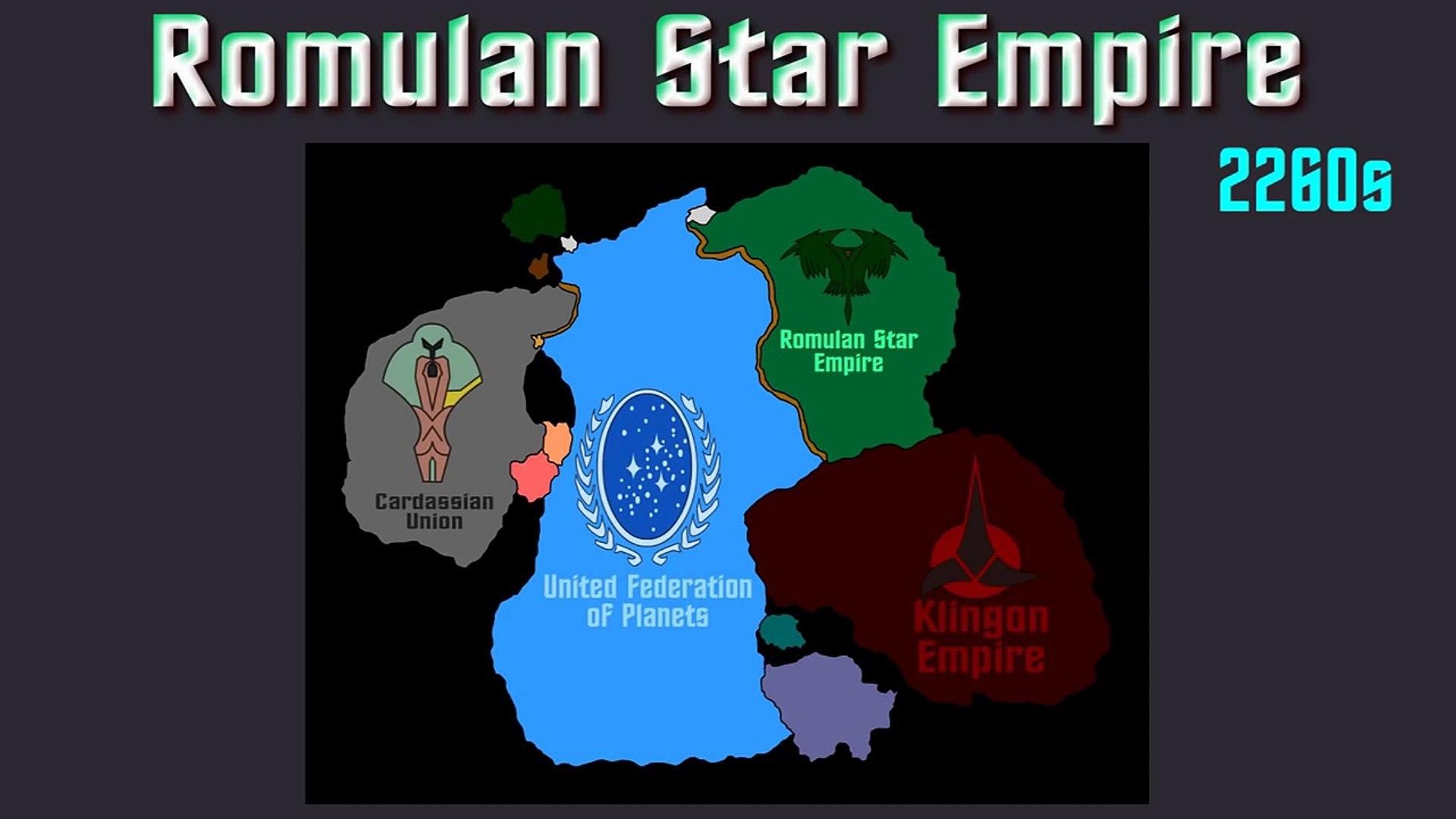 Star Trek Romulan Star Empire Video Dailymotion