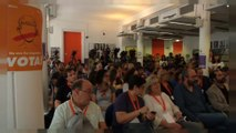 Los profesores catalanes opuestos a precintar colegios