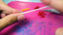 DIY Miniature Working Crayons (Made from Real Crayons) - Doll DIY