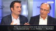 Florian Philippot était l'invité du Talk le Figaro