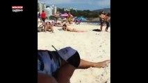 Pour draguer une fille sur la plage, un homme a une technique étonnante (vidéo)