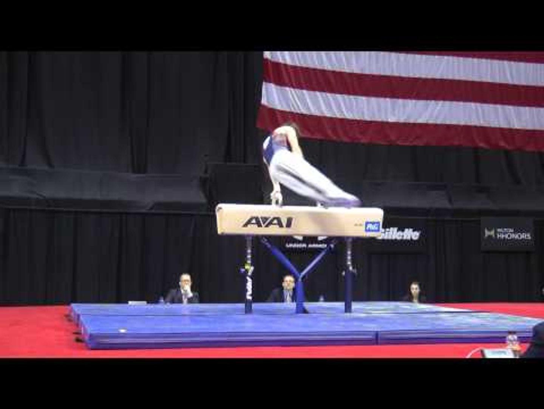 Bobby Baker - Pommel Horse - 2014 P&G Championships - Jr. Men Day 1