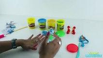 My Little Pony Equestria Girls Rainbow Rocks Play-Doh Rainbow Dash Doll with Guitar Rockin Style