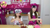NEAPOLITAN PUDDING POP POPSICLES - funny cute kids baking - ice lolly block pop