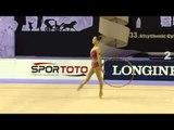 Deng Senyue (CHN) - Hoop Final - 2014 World Rhythmic Gymnastics Championships