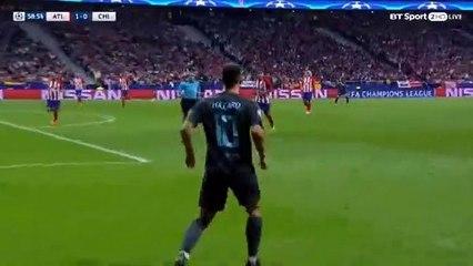 Alvaro Morata Goal HD - Atl. Madrid1-1Chelsea 27.09.2017